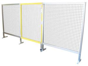 アルミフレームの安全柵